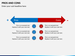 Pros and cons PPT slide 4