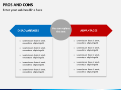Pros and cons PPT slide 7