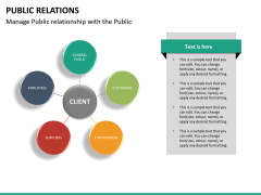 Public relations PPT slide 24