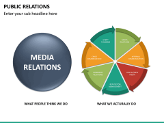 Public relations PPT slide 25