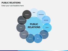Public relations PPT slide 1