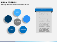 Public relations PPT slide 10