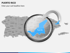 Puerto rico map PPT slide 12