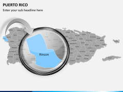 Puerto rico map PPT slide 14