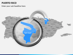 Puerto rico map PPT slide 15