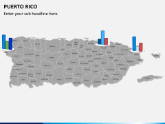 Puerto rico map PPT slide 16