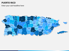 Puerto rico map PPT slide 17