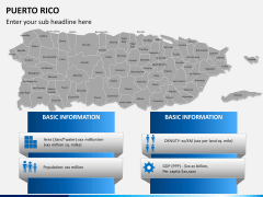 Puerto rico map PPT slide 18