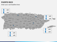 Puerto rico map PPT slide 19