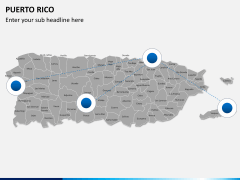 Puerto rico map PPT slide 3