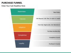Purchase Funnel PPT slide 30