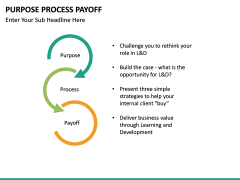 Purpose Process Payoff PPT slide 8