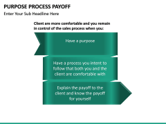 Purpose Process Payoff PPT slide 10