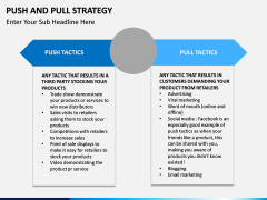 Push and pull strategy PPT slide 7