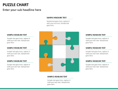 Puzzle chart PPT slide 27