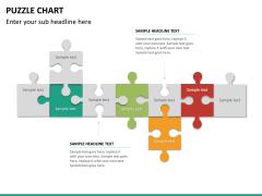 Puzzle chart PPT slide 28