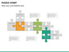 Puzzle chart PPT slide 29
