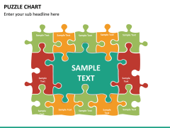 Puzzle chart PPT slide 30
