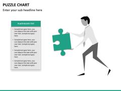 Puzzle chart PPT slide 18