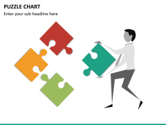 Puzzle chart PPT slide 21