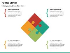 Puzzle chart PPT slide 22