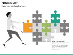 Puzzle chart PPT slide 23