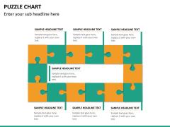 Puzzle chart PPT slide 24