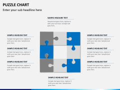 Puzzle chart PPT slide 12