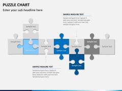 Puzzle chart PPT slide 13