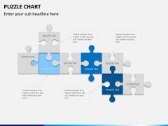 Puzzle chart PPT slide 14