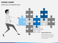 Puzzle chart PPT slide 8