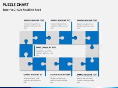Puzzle chart PPT slide 9