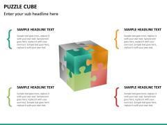 Puzzle cube PPT slide 18