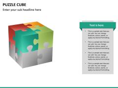 Puzzle cube PPT slide 20