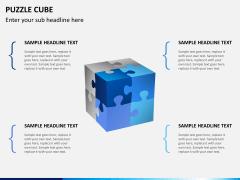 Puzzle cube PPT slide 6