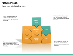 Puzzle pieces PPT slide 25