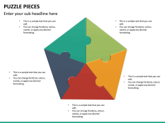 Puzzle pieces PPT slide 28