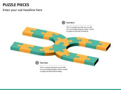 Puzzle pieces PPT slide 17