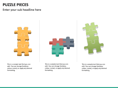 Puzzle pieces PPT slide 18