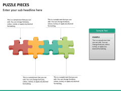 Puzzle pieces PPT slide 19