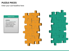 Puzzle pieces PPT slide 21