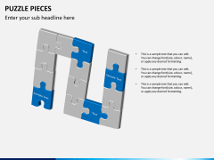 Puzzle pieces PPT slide 10