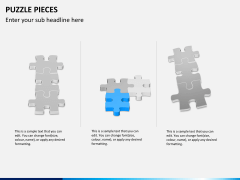 Puzzle pieces PPT slide 4