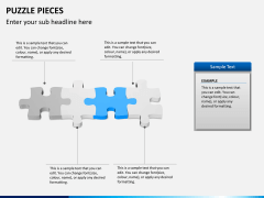 Puzzle pieces PPT slide 5