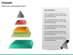 Pyramid shape PPT slide 20
