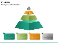 Pyramid shape PPT slide 12