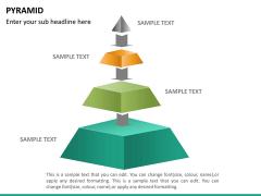 Pyramid shape PPT slide 16