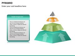 Pyramid shape PPT slide 18