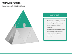 Pyramid puzzle PPT slide 8