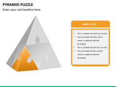 Pyramid puzzle PPT slide 9